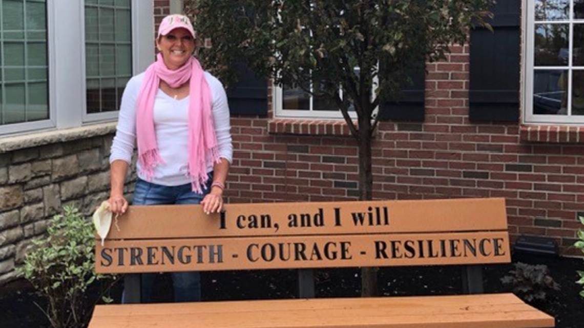 After winning her breast cancer battle, a Findlay woman is now fighting for others