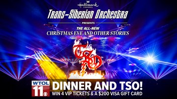 Win Dinner & tickets to TSO!