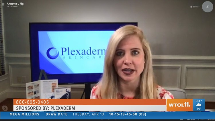 Show off your pearly whites in your all your pictures with the help of Plexaderm