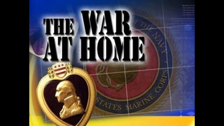 The War at Home – Parents of OH Marine beg folks to remember injured