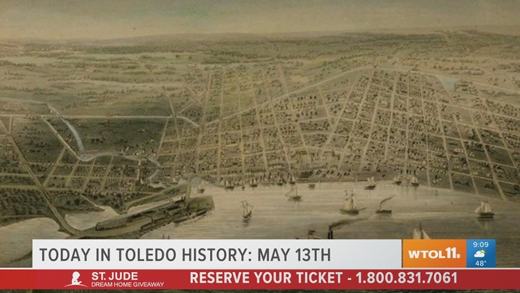 The humble beginnings of the Glass City | Today in Toledo History May 12