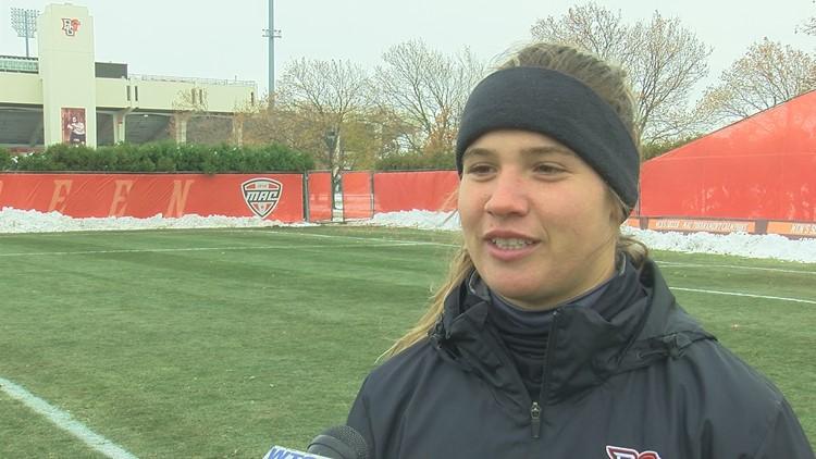 BGSU women's soccer preparing for NCAA tournament game against Michigan