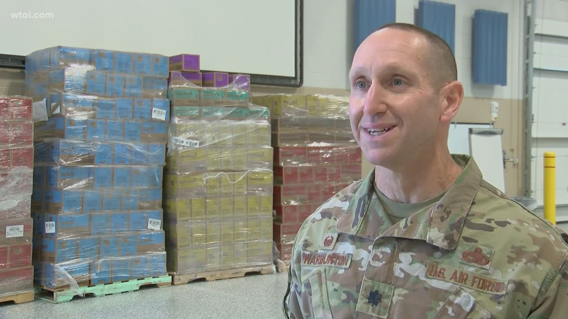Special Delivery: Girl Scouts of Western Ohio bring more than 80,000 cookies to 180th base