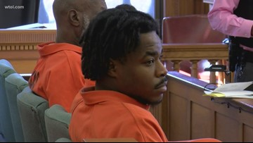 Malik Hall in court for pretrial hearing on tampering charges in January homicide