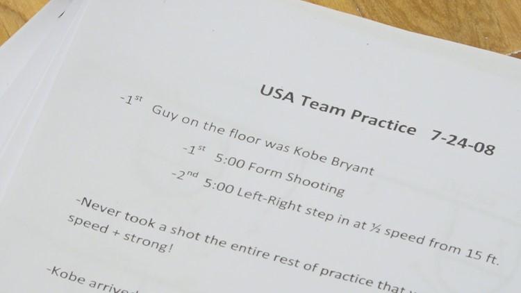 Kobe practice notes