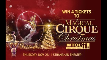 Congrats to our winners who won 4 tickets to A Magical Cirque Christmas!