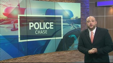 2 Toledo men facing charges after robbery turns into police chase