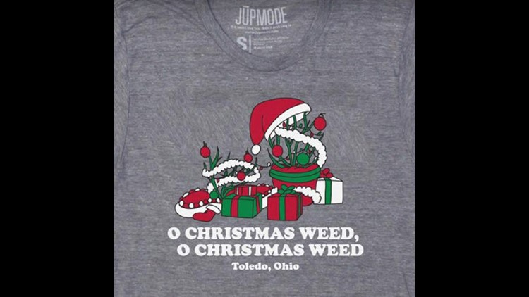 The Toledo Christmas Weed is a viral sensation sweeping the nation