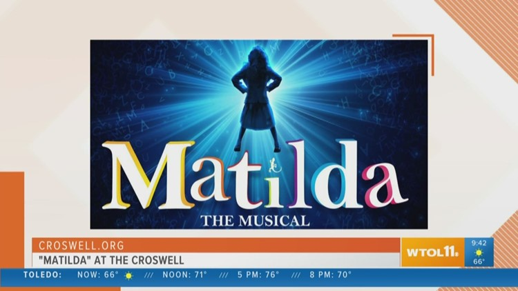 Check out 'Matilda' at the Croswell this weekend!