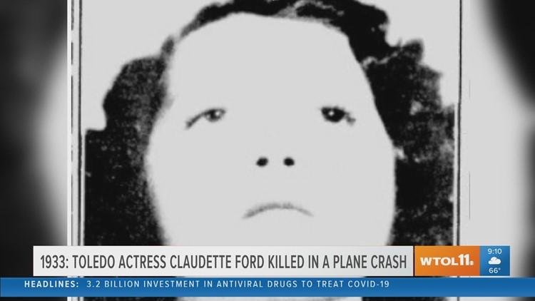 Toledo actress killed in a plane crash | Today in Toledo History June 18