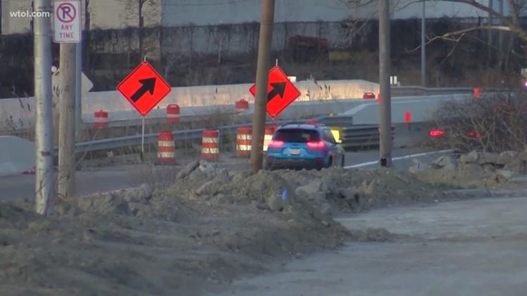 Traffic pattern changes happening on Anthony Wayne Trail & I-75