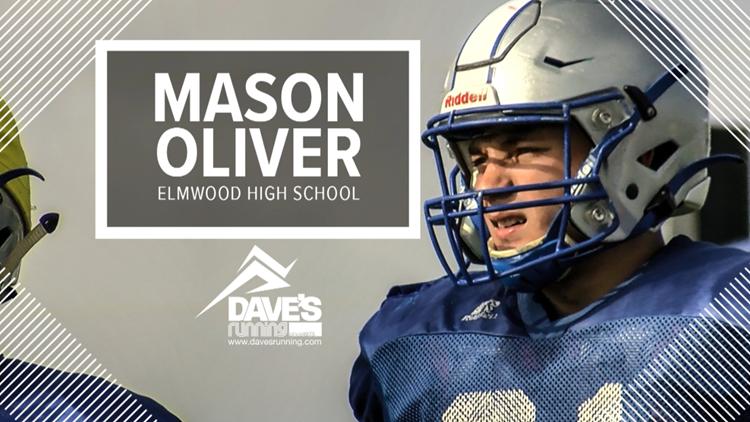 Athlete of the Week: Mason Oliver of Elmwood High School