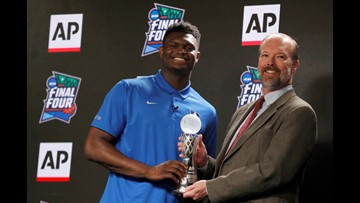 Duke's Zion Williamson Entering The NBA Draft