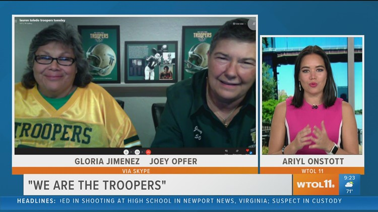 'We are the Troopers' at the Valentine Theater tells the story of the Toledo Troopers