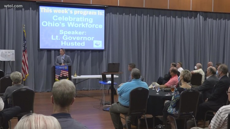 Lt. Gov. Jon Husted visits Findlay to talk workforce development