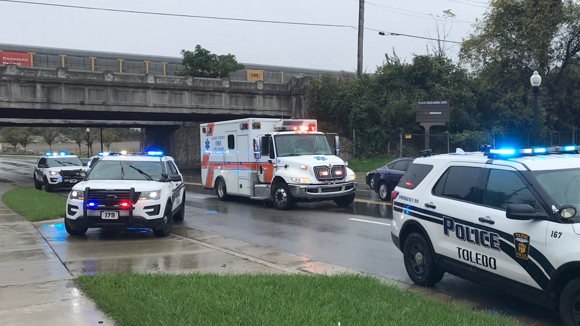 Person seriously injured after being hit by train on railroad bridge over Berdan Ave.