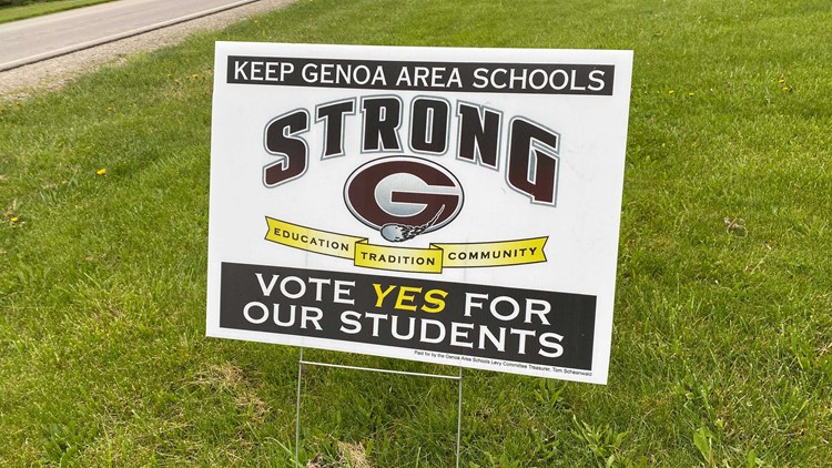 Genoa school district asking voters to pass 5.9-mill levy