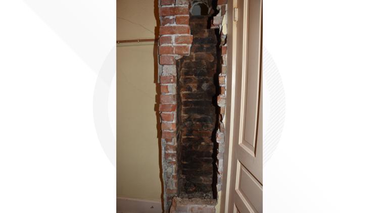 Harley Dilly vent hole chimney Fulton Street