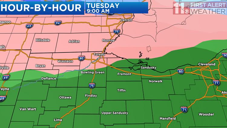Snow, Ice and Rain Ahead Tonight and Tuesday