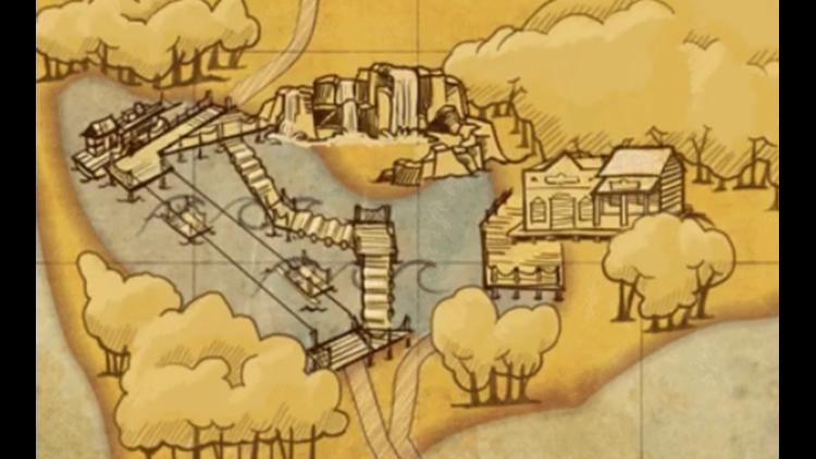 "Cedar Point unveils parts of new ""Forbidden Frontier"" attraction on"