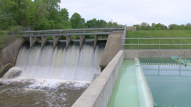 Dam on Lake Adrian