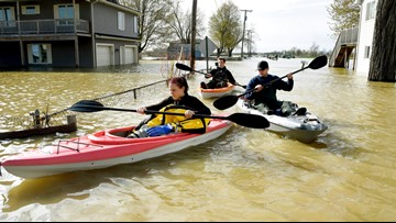 Michigan city reviews options to combat flooded streets