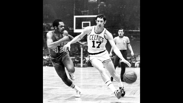 John Havlicek, Boston Celtics and Ohio State great, dies at 79