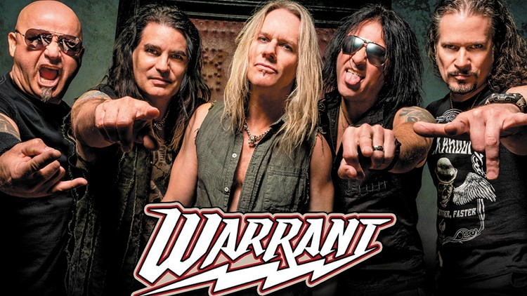 Kick it '80s style with Warrant at ProMedica Summer Concert Series