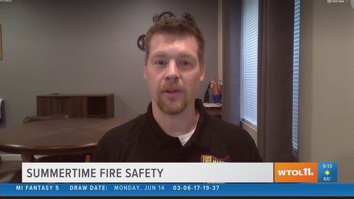 The State Fire Marshal's Office shares fire safety tips