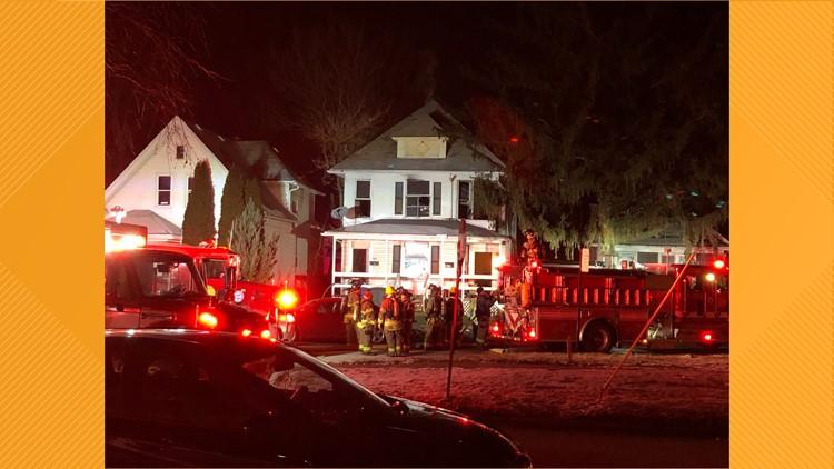 Leland Ave. house fire