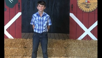 7th grader donates fair livestock winnings of $15,000 to St. Jude