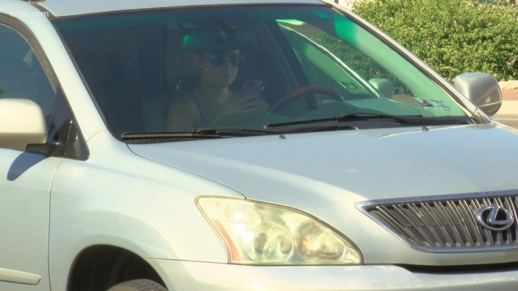 Rising distracted driving numbers in Ohio concerning to state officials