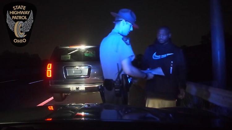 Dashcam video released of traffic stop shooting of Ohio State Highway Patrol trooper