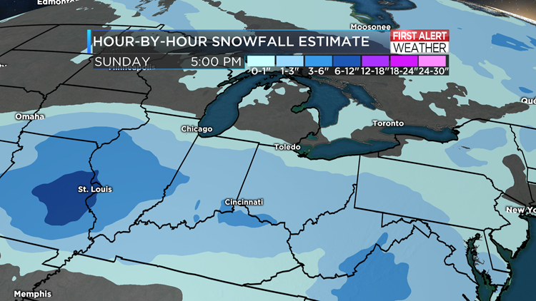 Snow Accumulations Are Moving in This Weekend!