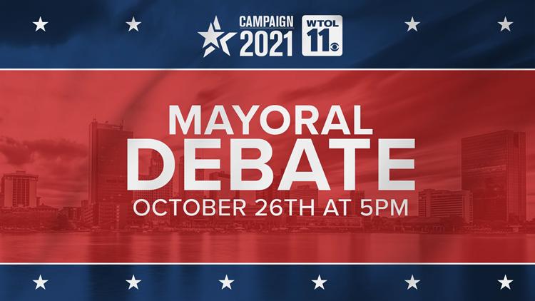 WTOL 11 hosts live Toledo mayoral candidate debate Oct. 26