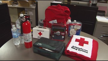 Red Cross officials urge residents to prepare for risk of severe weather