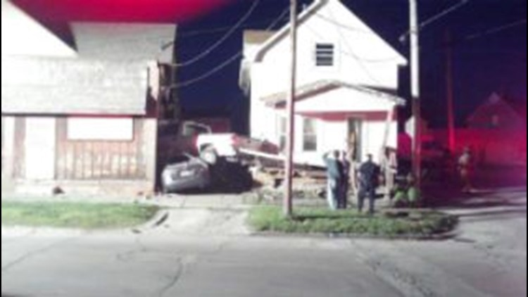 Rossford Police: man drove car into house