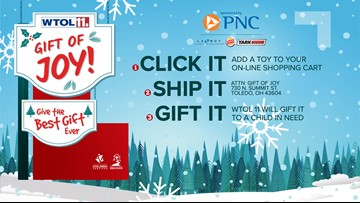 CLICK IT, SHIP IT, GIFT IT | Shop online and add a toy to your cart to brighten a Lucas Co. child's holiday