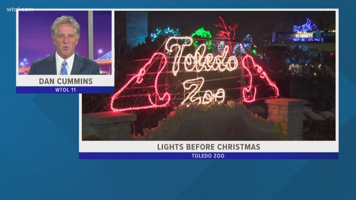 Toledo Zoo's Lights Before Christmas in the running for best zoo lights again