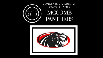 McComb Panthers take home Division VII championship