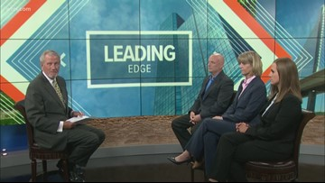 August 11: Leading Edge with Jerry Anderson — Guests Brian Dugger, Jennifer Bergeron and Sarah Martin (Part 1)