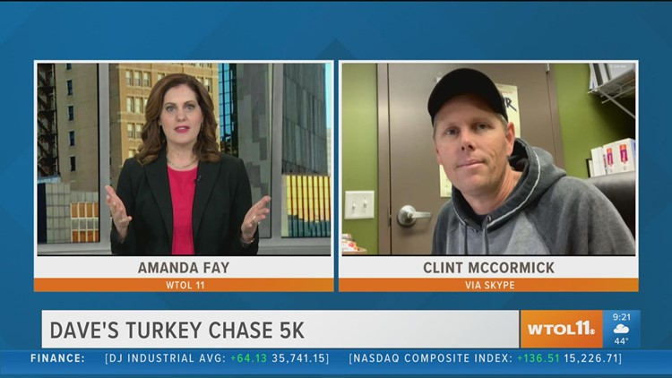 Register for Dave's Turkey Chase now