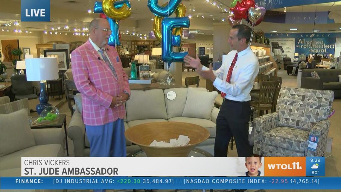 Congratulations to the winner of the $10,000 La-Z-Boy shopping spree!