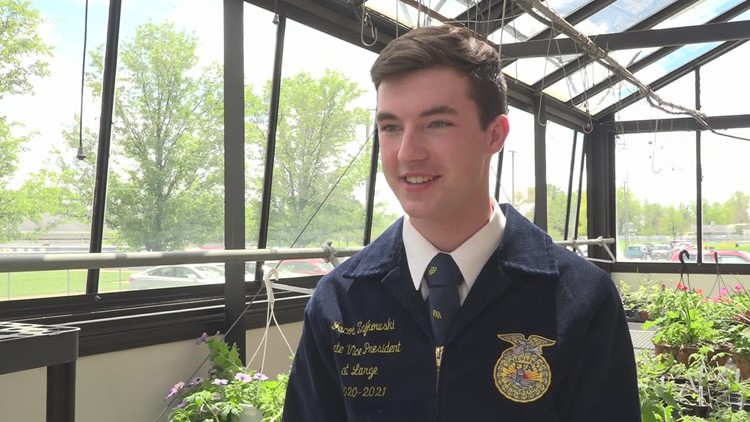 Anthony Wayne HS senior named Ohio Future Farmers of America president for 2021-22