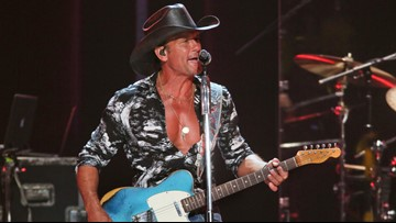 Tim McGraw announces Blossom Music Center stop in July
