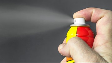 Police in West Virginia say people are using wasp spray to get high