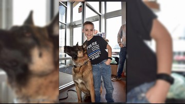 9-year-old Ohio boy raises nearly $80K to give bulletproof vests to police K-9s