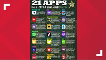 21 apps parents should look out for on their kids' phones