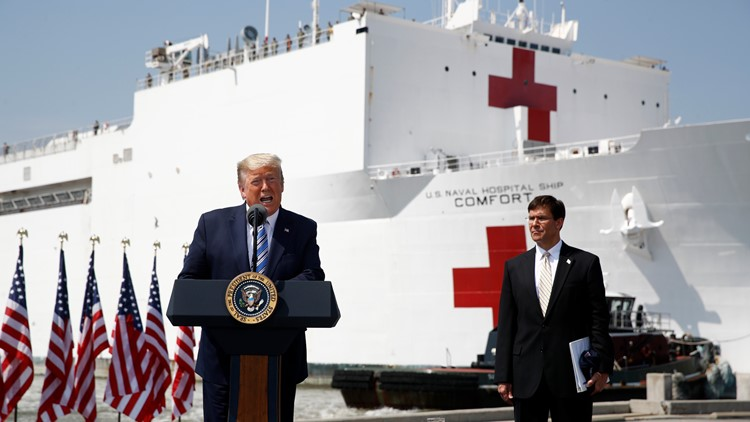 Trump: No quarantine, but 'strong Travel Advisory' for Connecticut, New York, New Jersey