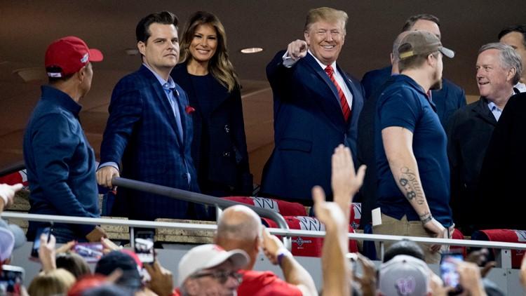 Trump at Game 5